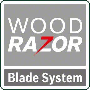 Bosch PHO 1500 wood razor sistem noža