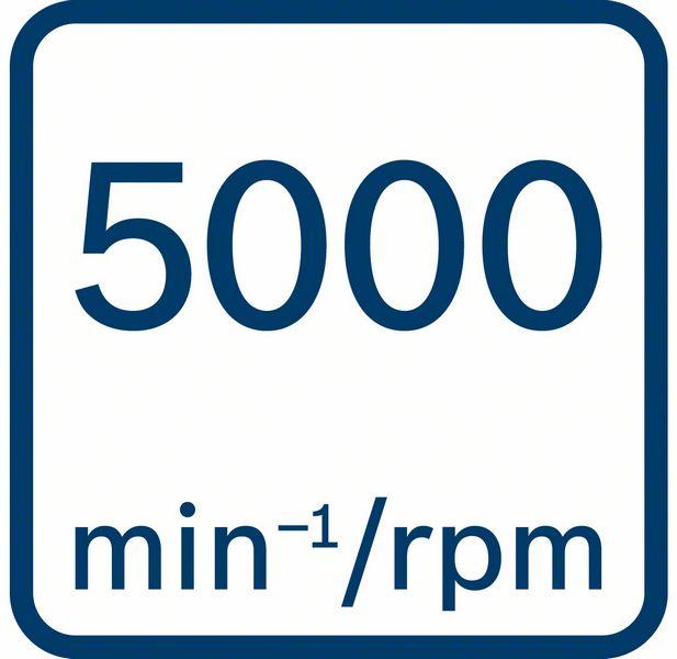 5000 obrtaja u minutu Bosch GTB 650