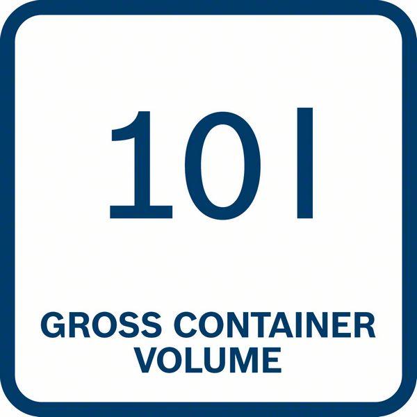 Bosch GAS 18V-10 L 10 litara zapremina bruto