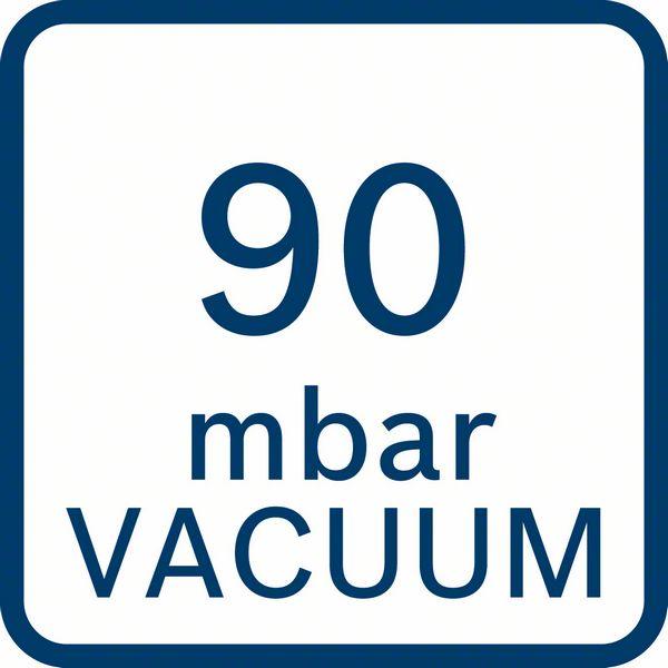 Bosch GAS 18V-10 L 90 mbar vakum