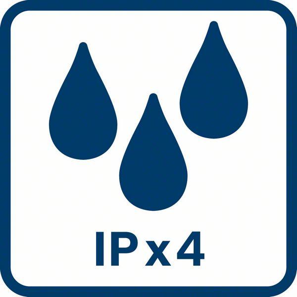 Bosch GAS 18V-10 L IPx4 zaštita