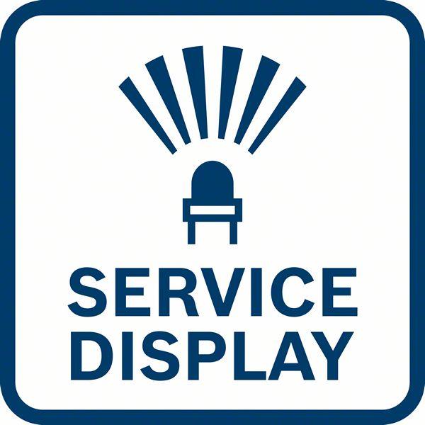 Lampica Vas obaveštava kada je vreme za servis