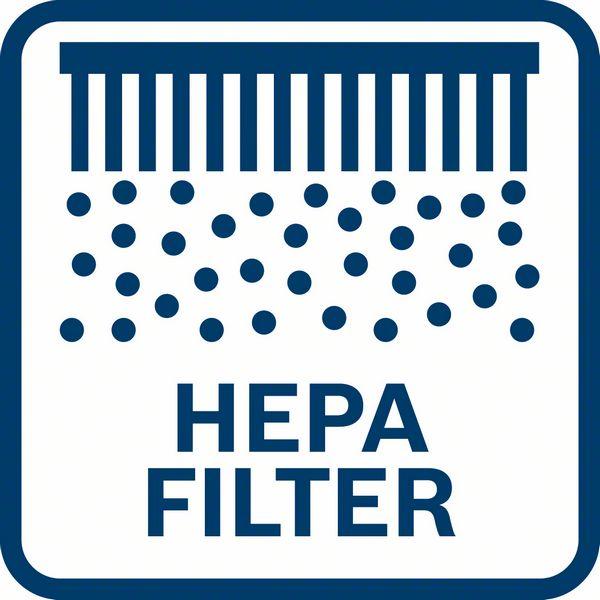 Bosch GDE 18V-16 Hepa filter