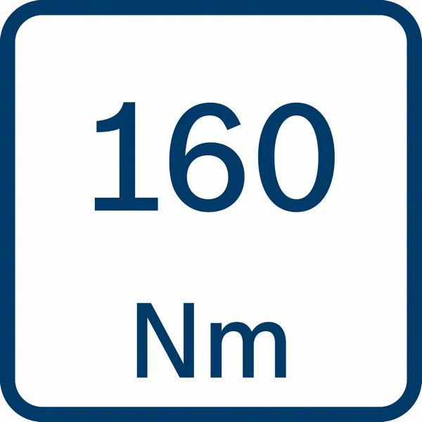 Bosch GDR 180-LI 160Nm obrtni moment