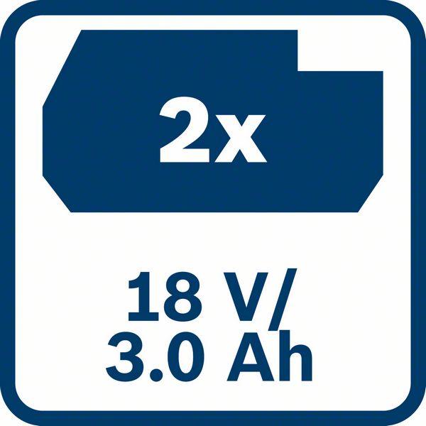 Bosch GDS 250-LI 2x3,0Ah 18V