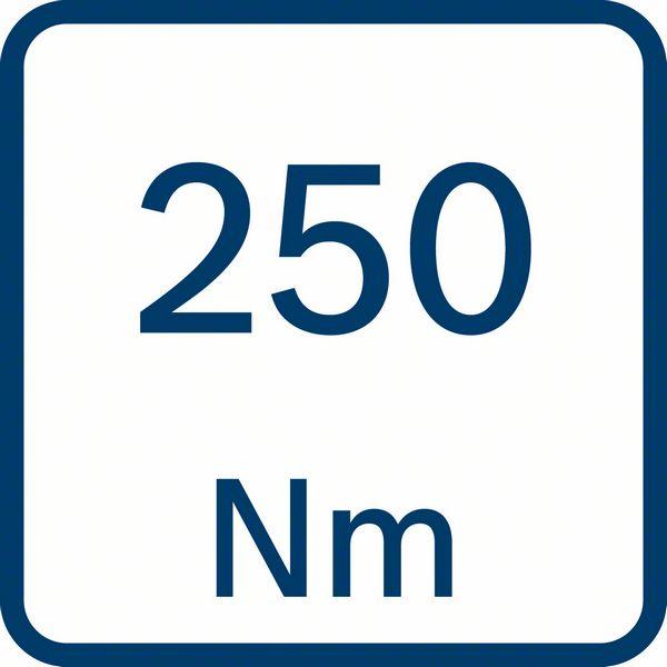Bosch GDS 250-LI obrtni moment 250 Nm