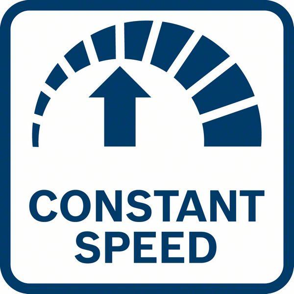 Bosch GET 75-150 ima konstantnu brzinu čak i pod opterećenjem