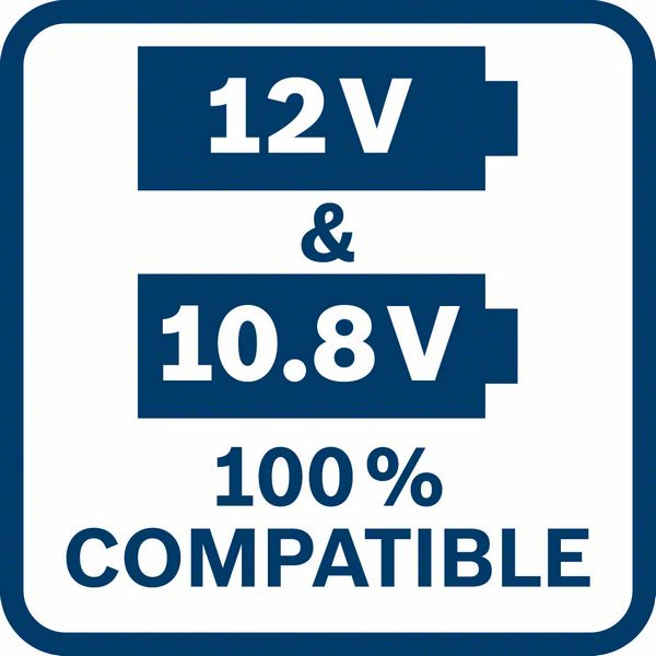 Bosch GKF 12V-8 kompatibilnost sa 12V i 10,8V Bosch akumulatorima