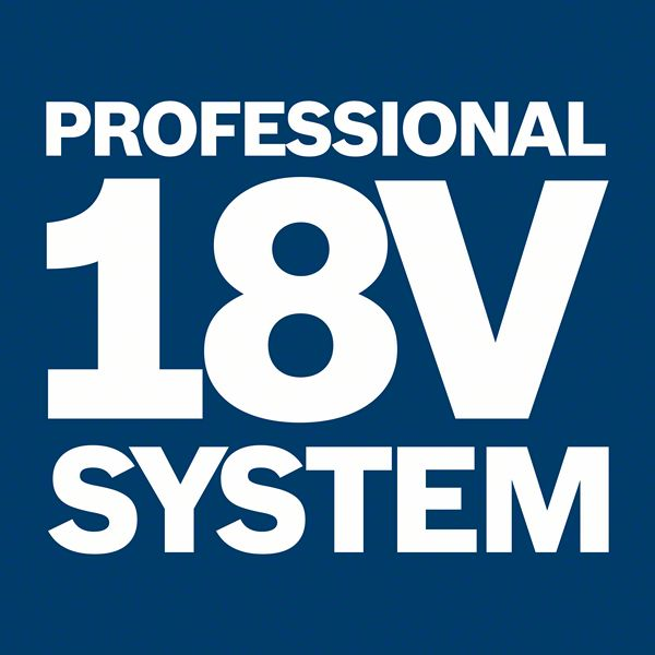 Professional 18V system