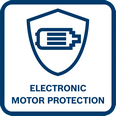 Bosch GSB 120-Li elektronska zaštita motora
