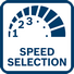 Bosch GSB 180-Li regulacija broja obrtaja