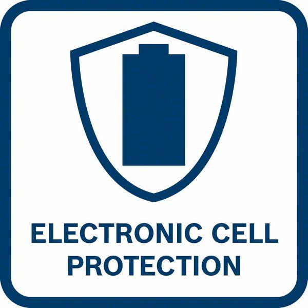 Bosch GSR 12V-30 ima ECP elektronsku zaštitu ćelija baterije od pregrevanja