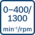 Bosch GSR 12V-15 FC broj obrtaja