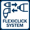 Bosch GSR 12V-15 FC flexiclick sistem