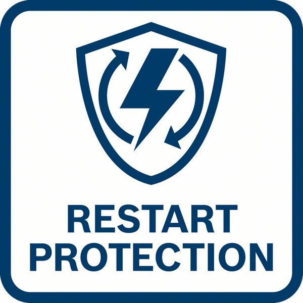 Zaštita od neželjenog ponovnog pokretanja GWX 14-125
