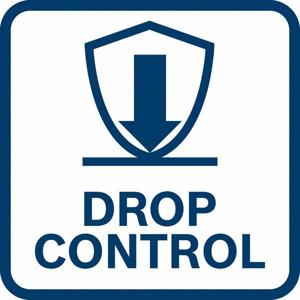 Bosch GWS 18V-10 funkcija drop control