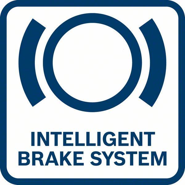 Bosch GWX 18V-10 intelligent brake system