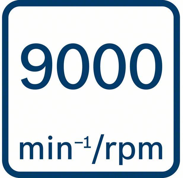 Bosch GWX 18V-10 PC 9000 obrtaja u minutu