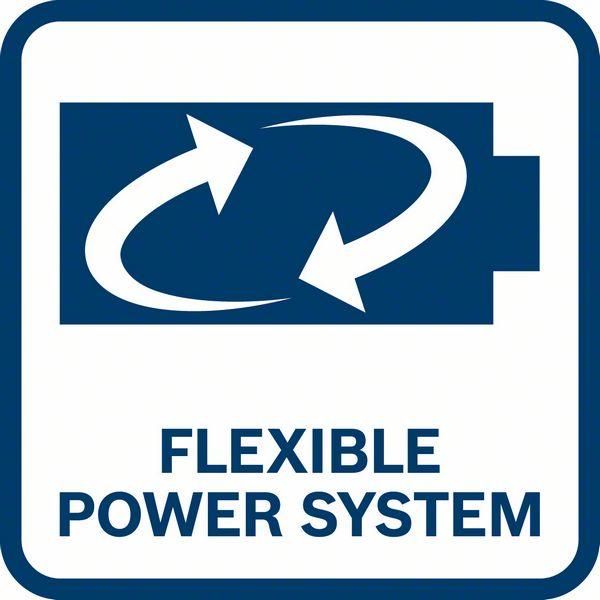 Bosch GWX 18V-10 PC fleksibilni sistem napajanja