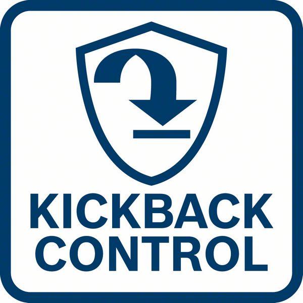 Bosch GWX 18V-10 PC kick back kontrola