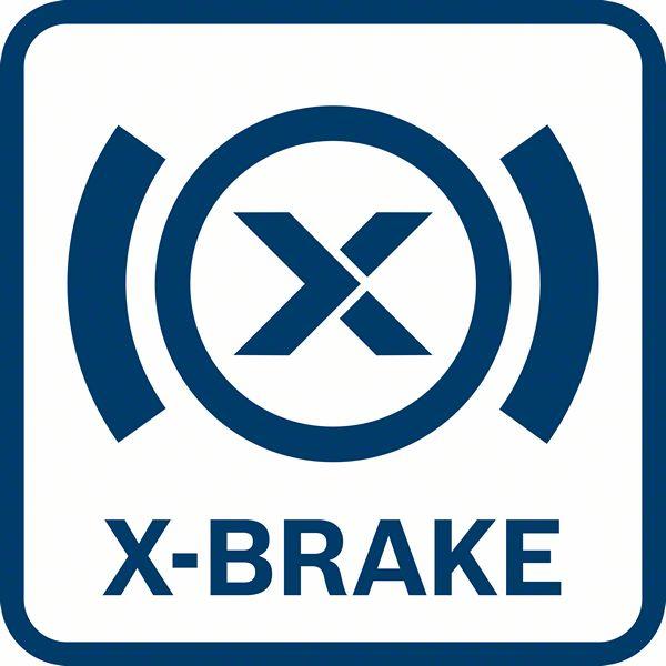 Bosch GWX 18V-10 PC X-Brake kočnica