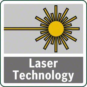 Bosch PBD 40 laserska tehnologija