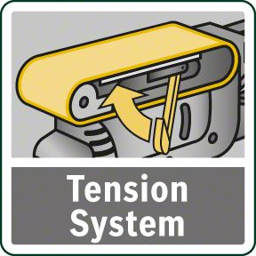 Bosch PBS 75 A sistem zatezanja trake
