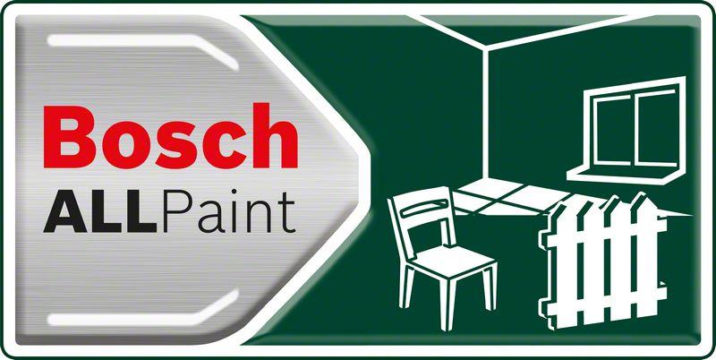 Bosch PFS 2000 jednostavno prskanje svih vrsta boja