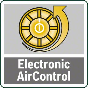 Bosch PFS 5000 E elektronsko regulisanje količine vazduha