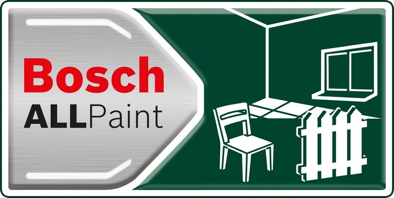 Bosch PFS 5000 E jednostavno prskanje svih vrsta boja