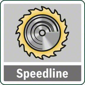 Bosch PKS 55 speedline list testere