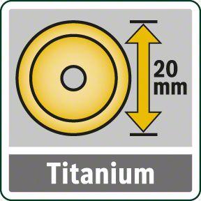 Bosch PTC 640 točak obložen titanijumom