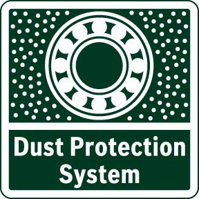Bosch PWS 850-125 zaštita od prašine