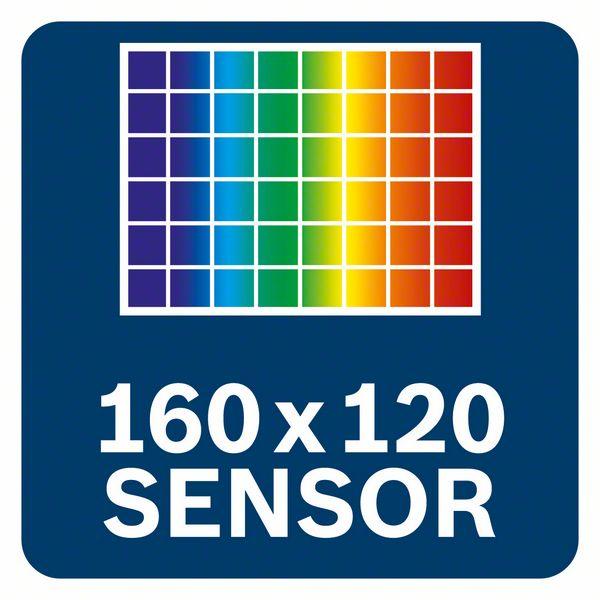 Bosch GTC 400 C konekcija 160x120 senzor