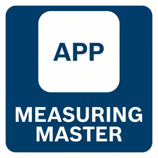 Bosch GTC 400 C Measure Master aplikacija